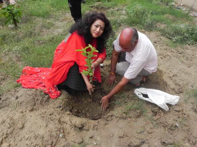 Tree Plantation Drive In Delhi