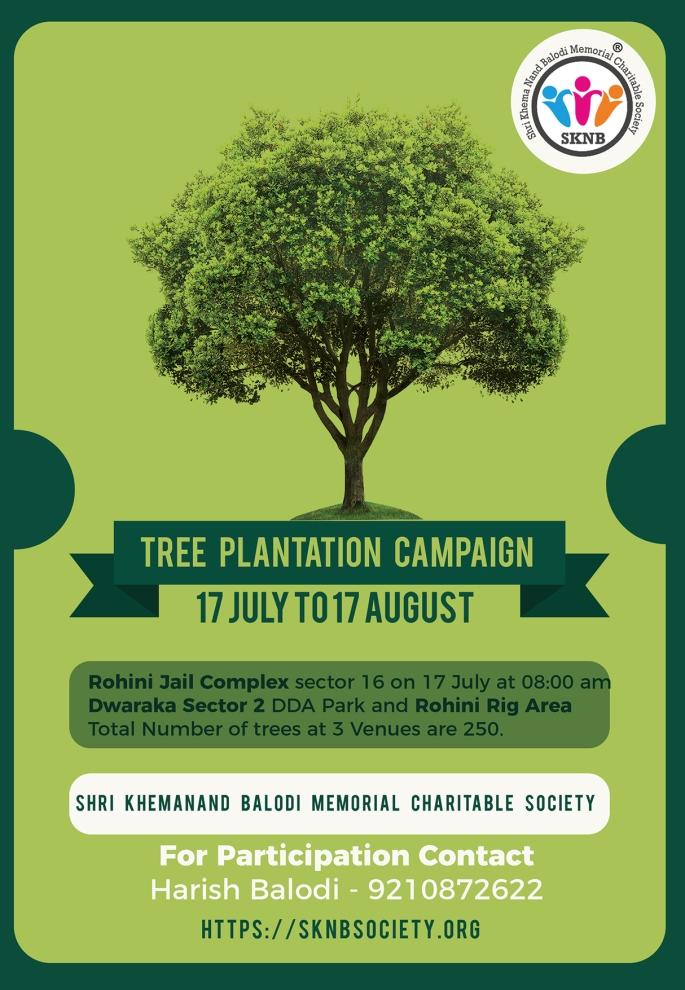 Tree Plantation in Delhi